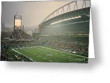 Seahawks Stadium 2 Greeting Card