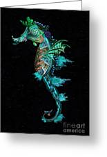 Seahorse Greeting Card by Lynn Jackson