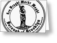 Seal Of Brooklyn Greeting Card