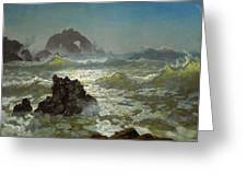 Seal Rock California Greeting Card