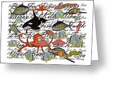 Sealife Dreamland IIi Greeting Card