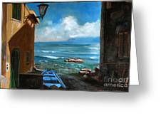 Sealight From Sicily Greeting Card