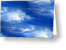 Seamless Background Sky Greeting Card