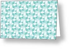 Seamless Pixel Pattern  Greeting Card
