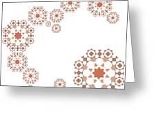 Seamless Retro Pattern Greeting Card