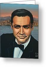 Sean Connery As James Bond Greeting Card
