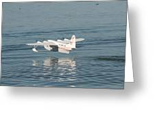 Seaplane Liftoff Greeting Card