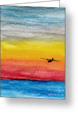 Searching The Vastness - Pby Catalina On Patrol Greeting Card