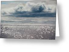 Seascape 160 X 120 Greeting Card
