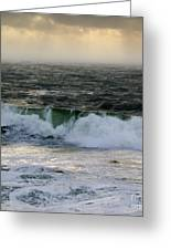 Seascape 1b The Sound  Greeting Card