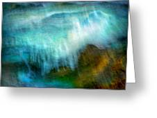 Seascape #20 - Touching Your Hand Greeting Card
