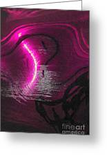 Seascape Abstract Greeting Card