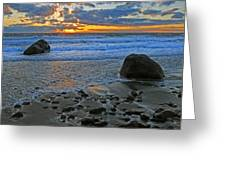 Seascape At Marthas Vineyard Greeting Card