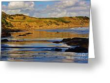 Seascape At Phillip Island Greeting Card