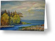 Seascape From Hamina 3 Greeting Card