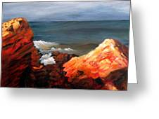 Seascape Series 6 Greeting Card