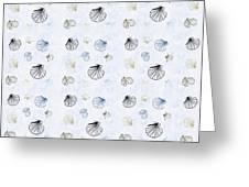 Seashell Pattern Greeting Card