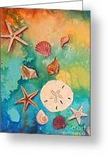 Seashells Fantasy Greeting Card