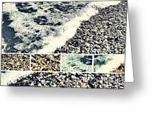 Seashore Upclose - Greeting Card Only Greeting Card by Scott Allison
