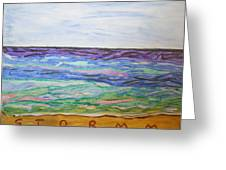Sunny Seashore  Greeting Card