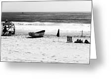 Seaside Beach Days Greeting Card