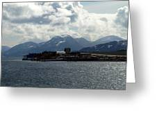 Seaside City Greeting Card