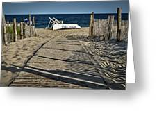 Seaside Park New Jersey Shore Greeting Card