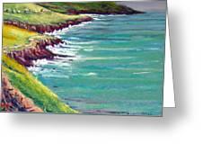 Seaside Path Greeting Card