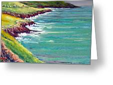 Seaside Path Greeting Card