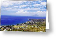 Seaside Resort Greeting Card