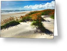 Seaside Serenity I - Outer Banks Greeting Card by Dan Carmichael