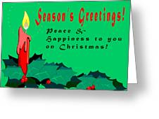 Seasons Greeting Greeting Card