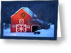 Seasons Greetings Greeting Card by Thomas Schoeller