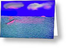 Sea.sun Greeting Card