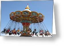 Seaswings At Santa Cruz Beach Boardwalk California 5d23911 Greeting Card