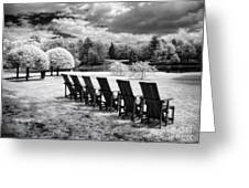 Seating For Six Greeting Card