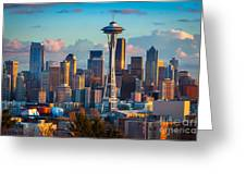 Seattle Afternoon Greeting Card