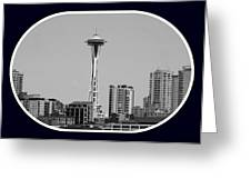 Seattle Center Stage Greeting Card