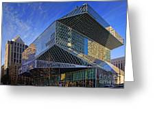 Seattle Library Greeting Card