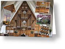 Seattle Organ  Greeting Card