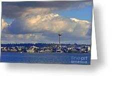 Seattle Skyline 2 Greeting Card