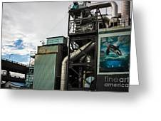 Seattle Steel And Sky Greeting Card