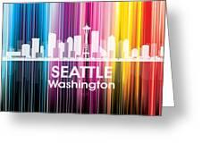 Seattle Wa 2 Greeting Card