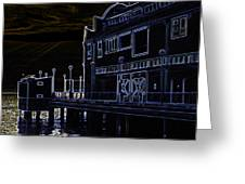 Seattle Waterfont Greeting Card