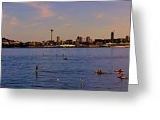 Seattle Waterfront 2 Greeting Card