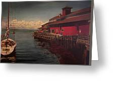 Seattle Waterfront Greeting Card