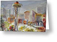 Seattle's Icon Greeting Card