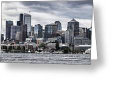 Seattle's Skyline Greeting Card