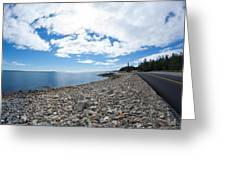 Seawall - Acadia Greeting Card