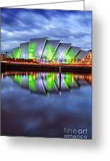 Secc Glasgow Scotland Greeting Card